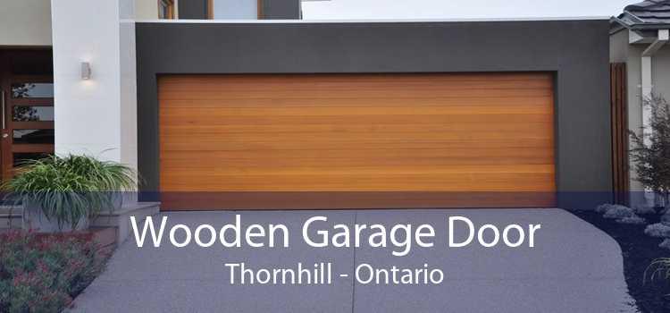 Wooden Garage Door Thornhill - Ontario