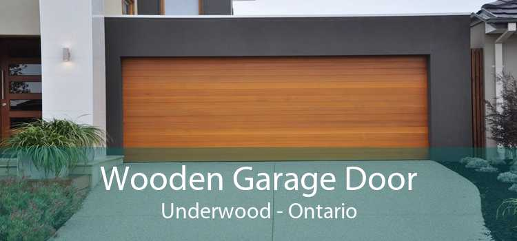 Wooden Garage Door Underwood - Ontario
