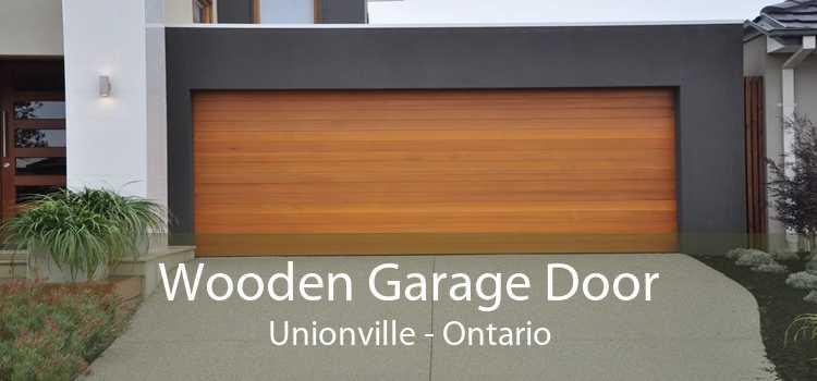 Wooden Garage Door Unionville - Ontario