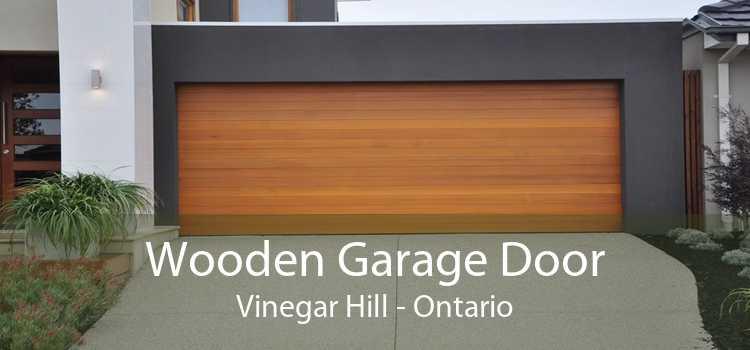 Wooden Garage Door Vinegar Hill - Ontario